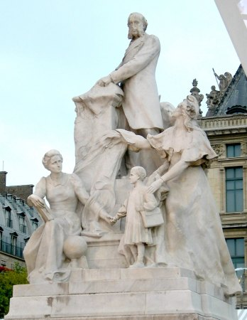 Gustave Michel : Monument à Jules Ferry