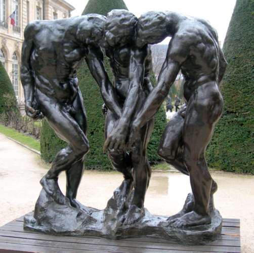 Auguste Rodin : Les ombres